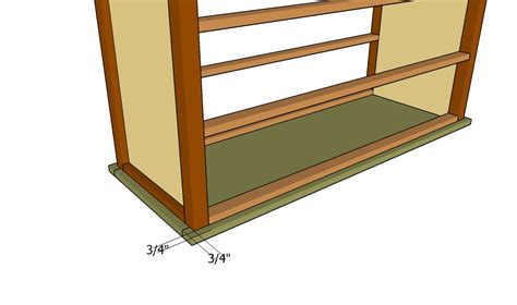 Simple Dresser Plans by Simple Dresser Plans Howtospecialist How To Build