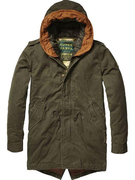 Kemeja Scotch And Soda Original 2 classic cotton parka jackets s clothing at scotch