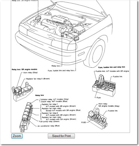custom b15 sentra wiring diagrams wiring diagram schemes
