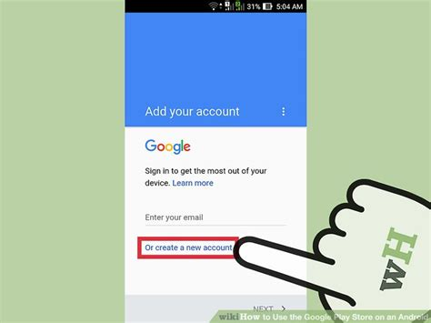 how to sign out of email on android how to use the play store on an android with pictures