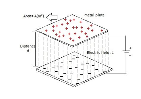 charge on a plate of a capacitor capacitance charging and discharging of a capacitor