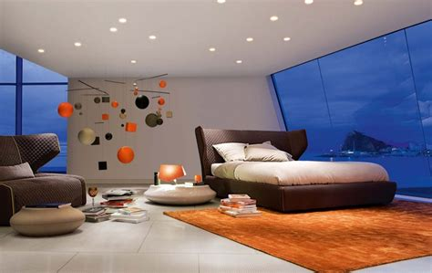 modern inspiring bedroom interior design by roche bobois