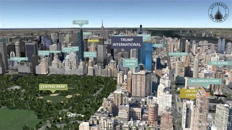 Trump Tower Apartments by Trump International 1 Central Park West New York Ny