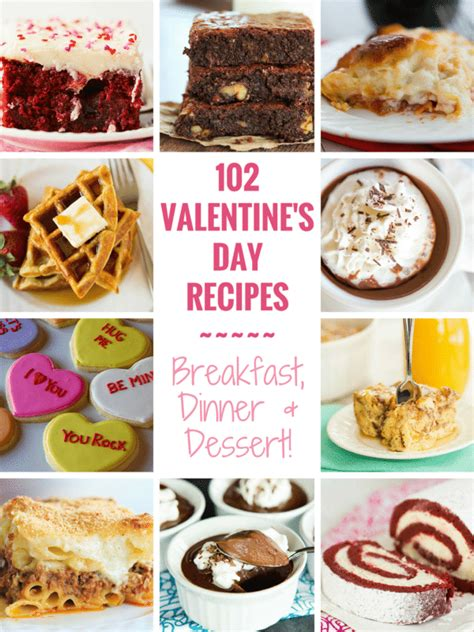 valentines recipes dinner 102 s day recipes brown eyed baker