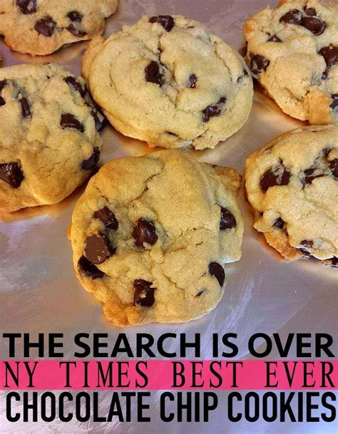 best cookie recipe nyt best chocolate chip cookie recipe simply taralynn