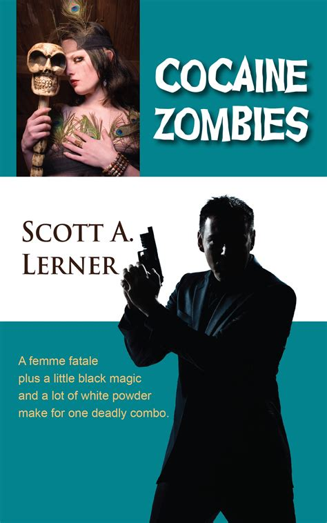 Cocaine Zombies with lerner author of cocaine zombies
