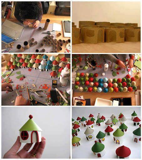 10 christmas craft projects made out of upcycled toilet