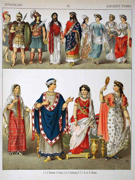 ancient greek costume history pictures showing how to recreate a file ancient times etruscan 015 costumes of all