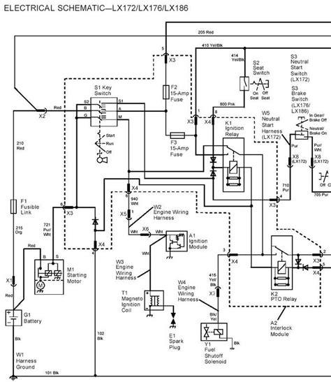 deere 317 wiring schematic deere lt155