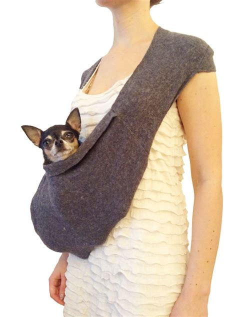 puppy carrier sling slings for small dogs breeds picture