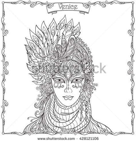 venetian masks coloring book for adults coloring pages venetian masks coloring pages