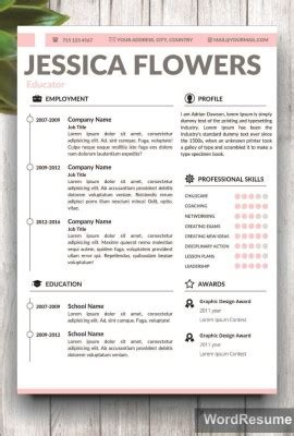 creative resume templates professional cv templates