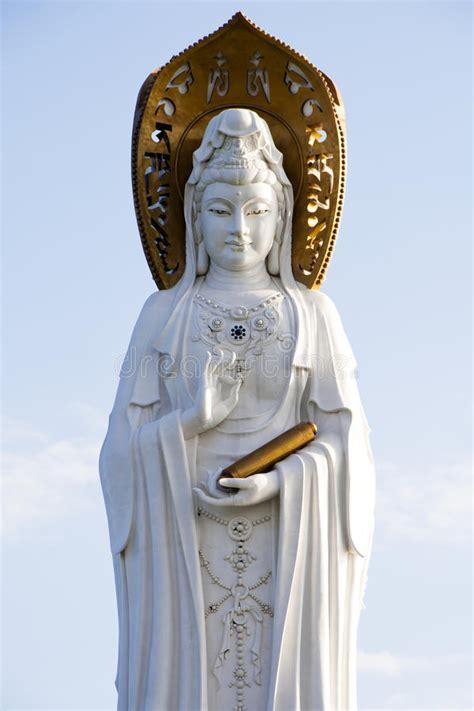 Teh Guan Yin guan yin of the south sea of sanya stock image image of