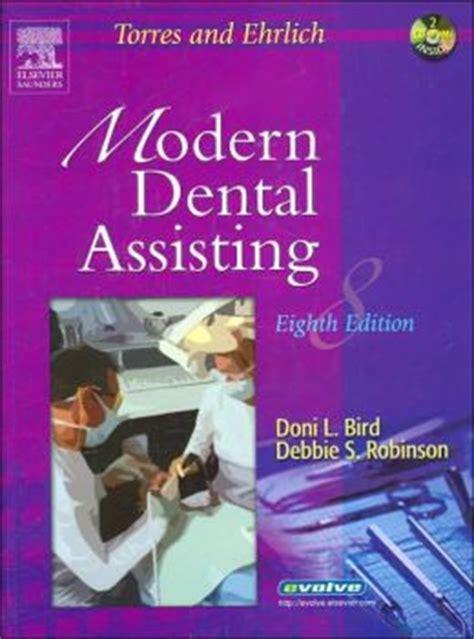 Torres And Ehrlich Modern Dental Assisting Text Workbook