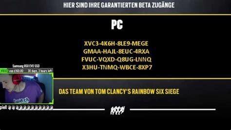 Pc Original Rainbow Six Siege Cd Key Uplay rainbow six siege pc gratis free beta german
