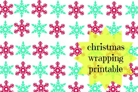 printable wrapping paper xmas sweet christmas wrapping printable theplumpower