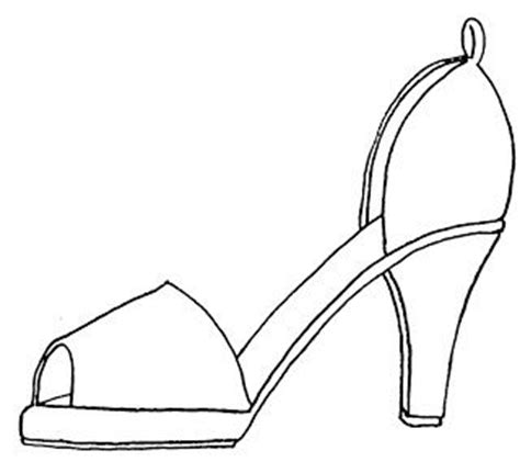 high heel shoe design template shoe pattern line shoe pattern