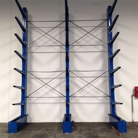 scaffali usati scaffalatura cantilever usato monofronte shopmetalshelves