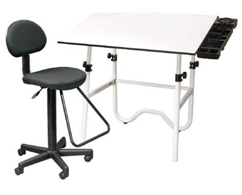 White Drafting Table Alvin Creative Center White Drafting Table And Chair Cc2001a Tiger Supplies