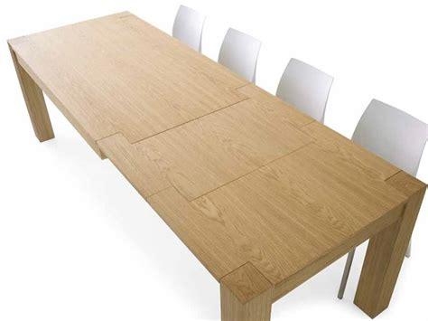 tavolo in rovere naturale tavolo rovere naturale doppia allunga