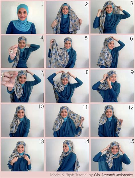 Jilbab Terkini cara memakai aisahbp
