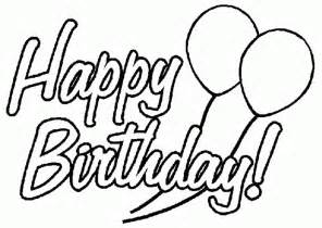 happy birthday coloring card birthday card coloring pages coloring home