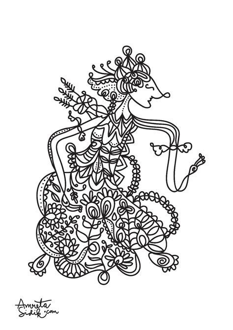 anti stress coloring book singapore javanese doll 1 amreta sidik coloring pages for adults