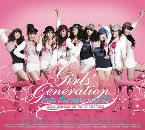 Generation The 1st Asia Tour Into The New World concert girls generation girls generation the 1st asia tour into the new world