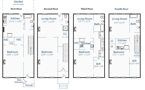 brownstone floorplans find house plans
