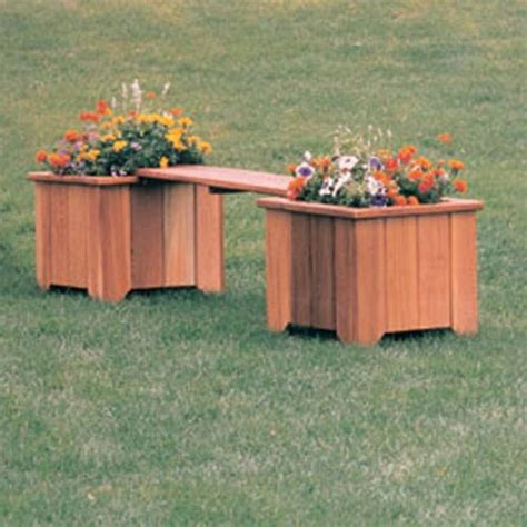 deck planters and benches 1000 ideas about planter bench on pinterest deck