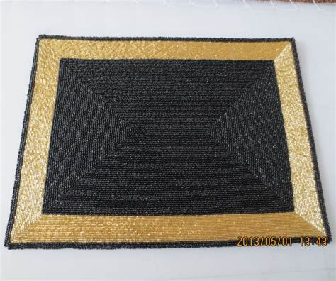 square placemats for table luxury black and gold square placemat handmade coaster