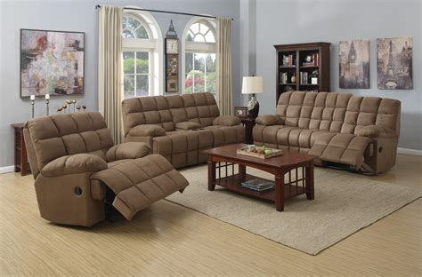 coaster reclining sofa coaster pickett reclining sofa set mocha 601941 sofa set