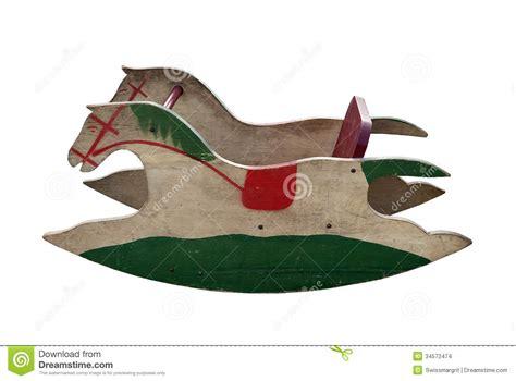 wooden rocking horse stock images image