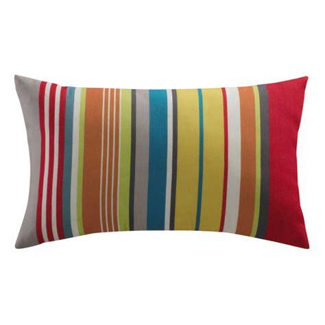 cuscini per esterni cuscino per esterni a righe multicolore 30 x 50 cm