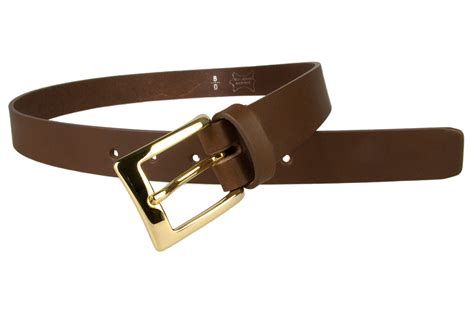 mens brown leather belt with gold buckle belt designs