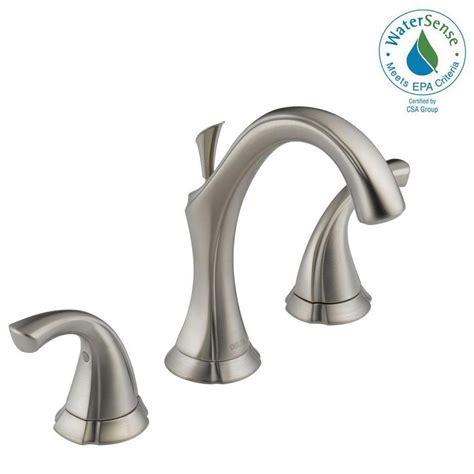 delta addison kitchen faucet reviews delta addison 8 in widespread 2 handle bathroom faucet