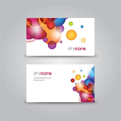 Avery Business Card Template 8310 名刺テンプレート ベクター画像 無料ダウンロード