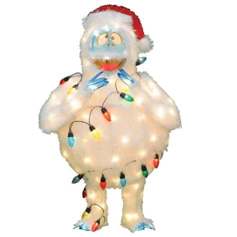 bumble abominable snowman yard decoration