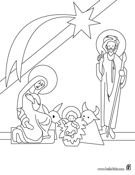 nativity scene with wise men coloring pages reanimators