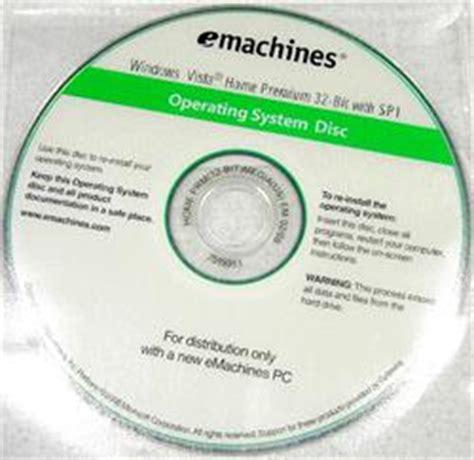 emachine password reset vista 7515911 emachines windows vista home recovery cd