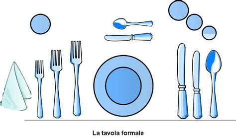 come si dispongono le posate a tavola a cena da la tavola