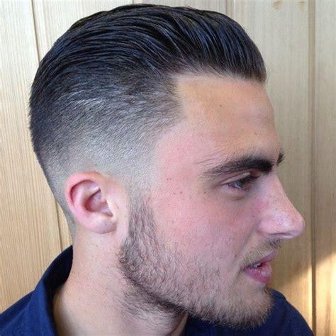 combed fade forward haircut slick mens hair pinterest comb over