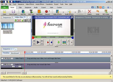 blogger video editor best free video editing software for windows icecream
