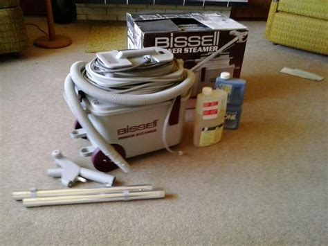 Steam Clean Upholstery Yourself by Bissell Power Steamer Model 1631c Saanich