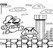 Coloriage Mario Bros &224 Imprimer