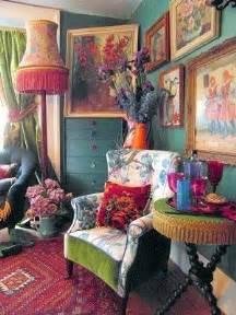 eccentric home decor living room in bohemian colors more is more pinterest