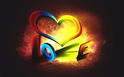 3d love pictures and wallpapers hd wallpapers 3d love color desktop background hd wallpaper