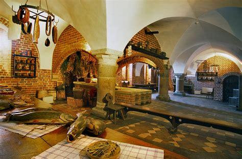 Sw Castle zdj苹cie wn苹trze zamku w malborku gotycki zamek