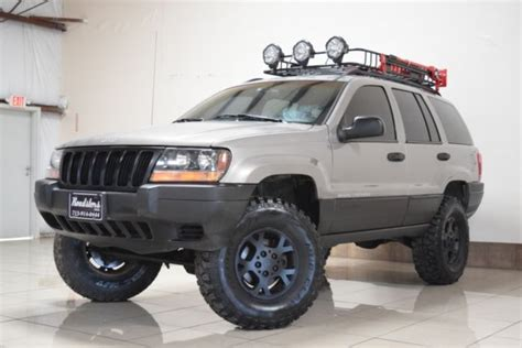 jeep wj roof lights jeep grand 4x4 lifted 78k tires roof