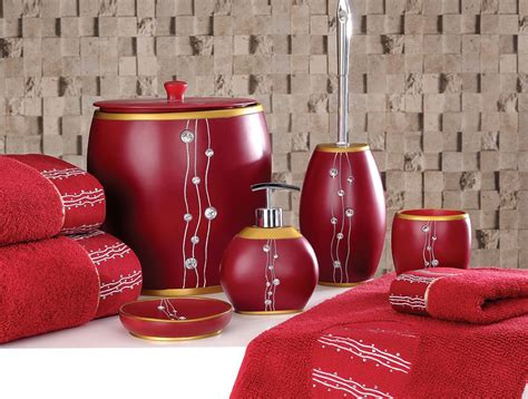 red and brown bathroom sets 25 exles of beautiful bathroom accessories